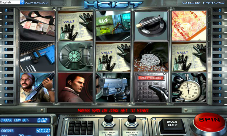 Spiele The Heist - Video Slots Online