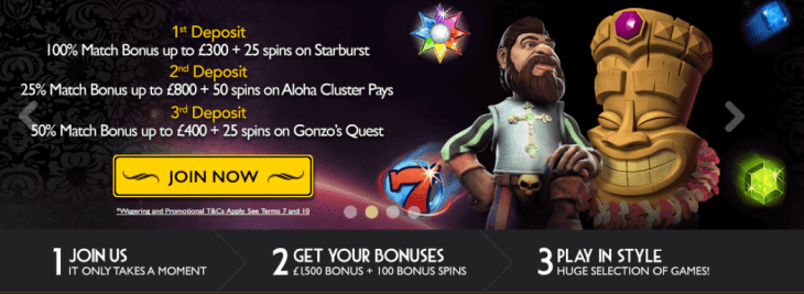 GrandIvy Casino welcome bonus