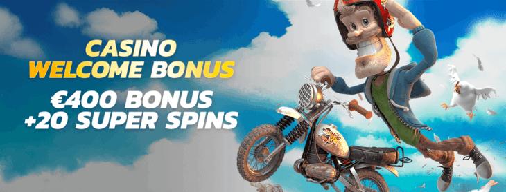 Thrills Casino welcome bonus