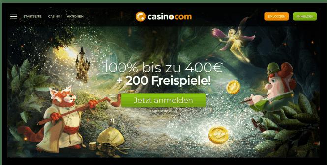 Casino.com Welcome Offer