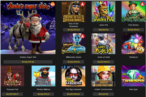 888 Casino Canada- games to play