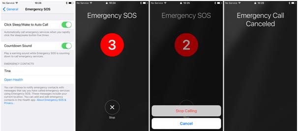 Emergency SOS Canada