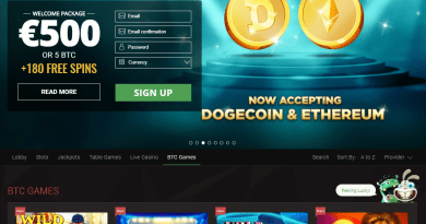 BTC casinos in Canada