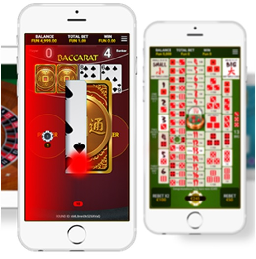 Baccarat to play with iPhone