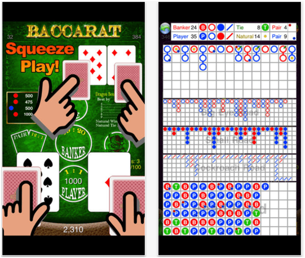 Baccarat Free App