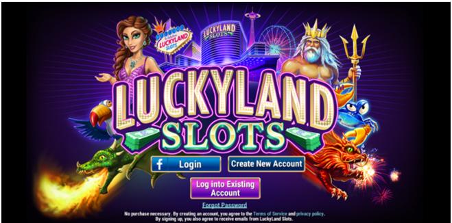 Can Canadians play slots at Luckyland