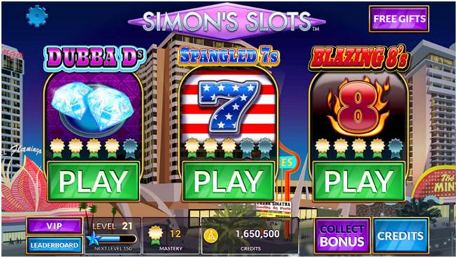 Earn Bonuses - Simon's Slots