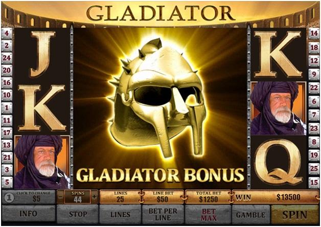 Free Gladiator Slot - Bonus
