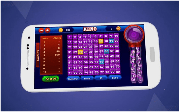 Free iPhone keno apps