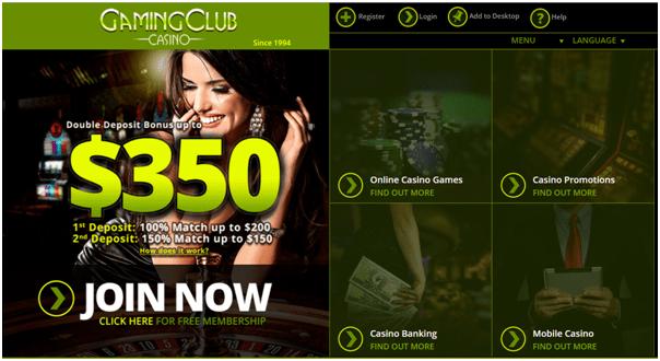 Gaming Club Casino Canada