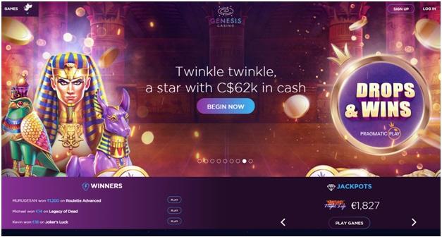Genesis Casino Canada