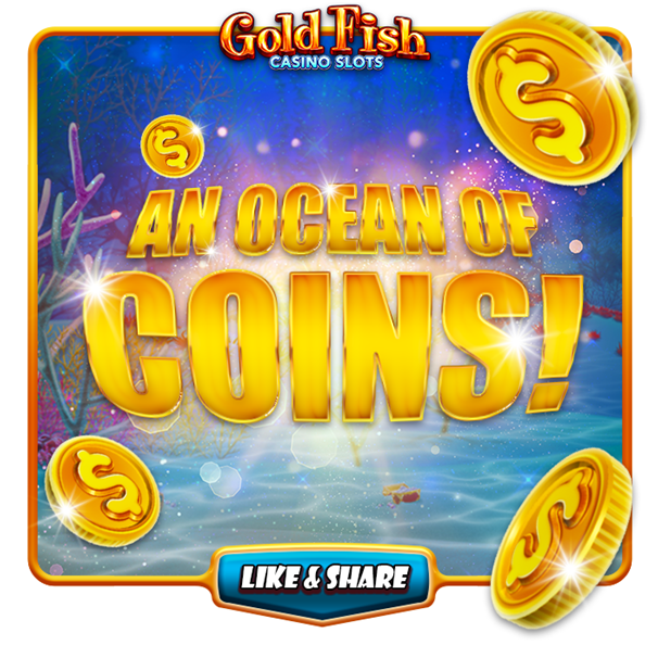 Gold Fish Casino app play with Facebook