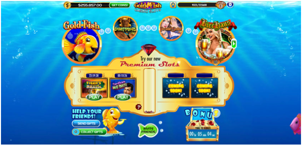 Gold Fish Casino App Features