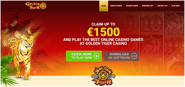 Golden Tiger Casino Canada