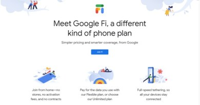 Google Fi on iOS