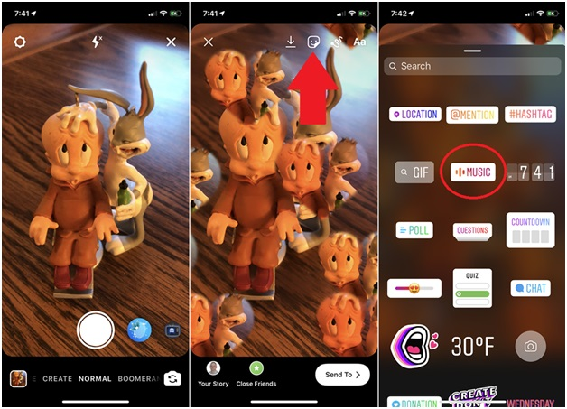 How to add music to an Instagram story with your iPhone