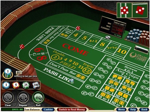 Casino Games Online Craps
