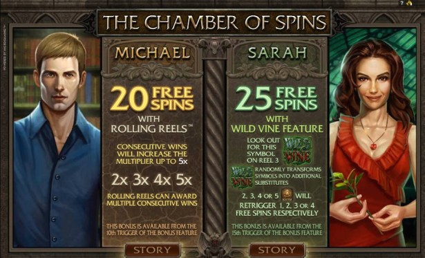Immortal romance chamber of spins- Best online slots in Canada