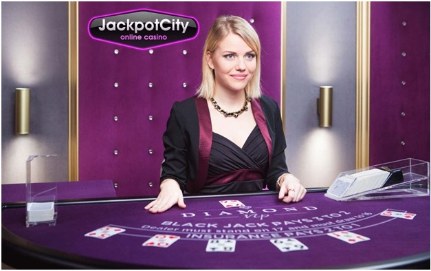 Jackpot city casino- Live