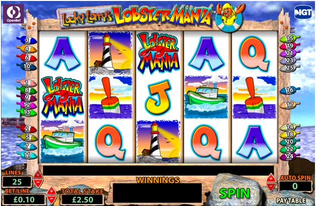 Lucky Larry lobstermania slot online