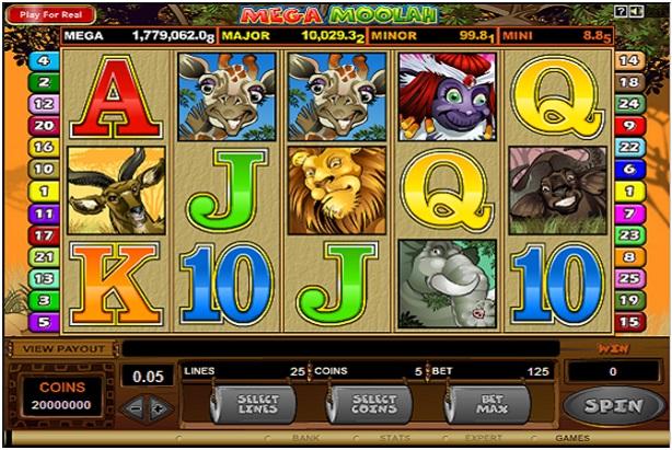 Mega Moolah Slot- Introduction