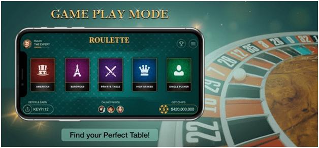 Roulette 42 app