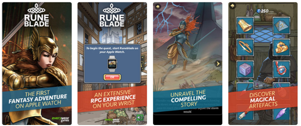 Runblade app