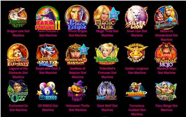 Slotomania games