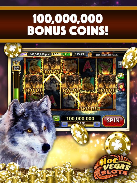 Slots Hot Vegas app- Play offline