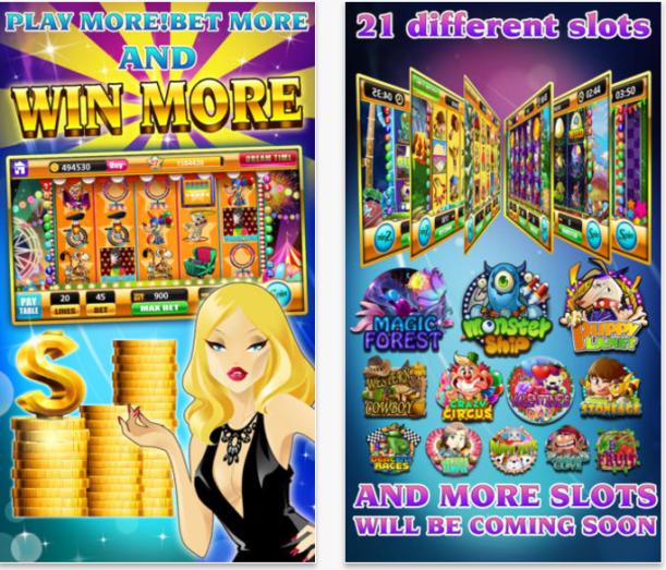 Slots dreams app