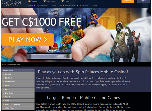 PayPal Casino- Few Canadian iPhone casinos that use PayPal