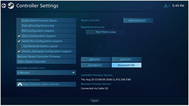 Steam Controller BLE