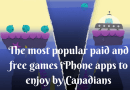 The most popular paid and free games iPhone apps to enjoy by Canadians