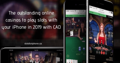 The outstanding online casinos to play slots with your iPhone in 2019 with CAD
