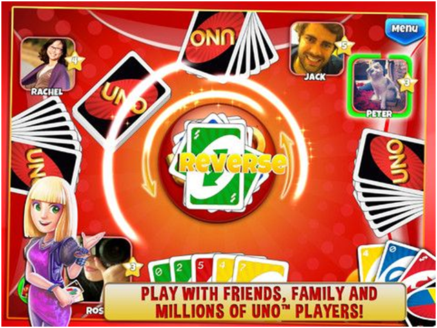 Uno- The card game that you will love to play on your iPhone