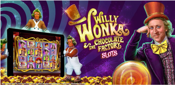 Willy Wonka slots app