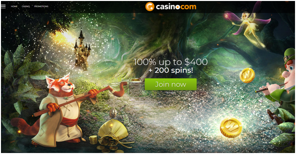 Casino dot com