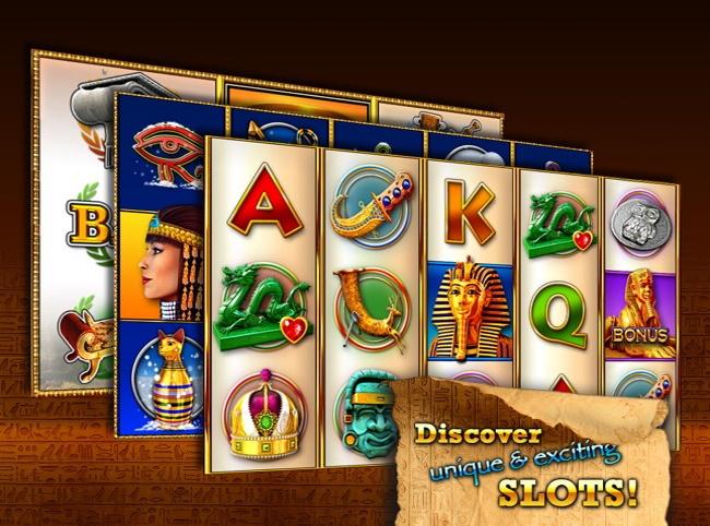 iOS Casino App 5: Pharaoh's Way