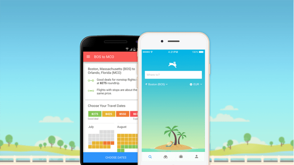 iOS Flight Booking Apps
