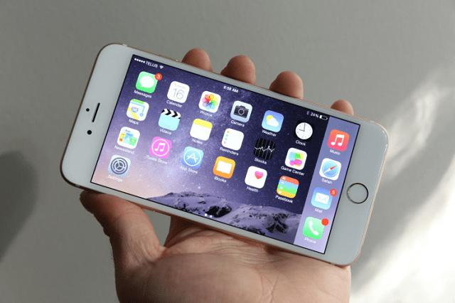 iphone 6 landscape