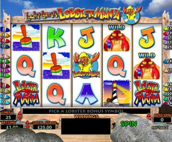 lobstermania slot features