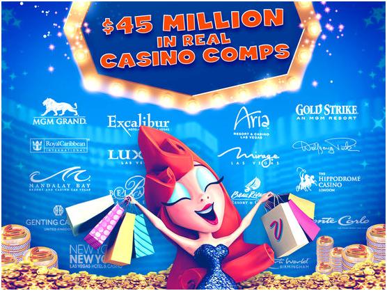 myVegas slot casino comps