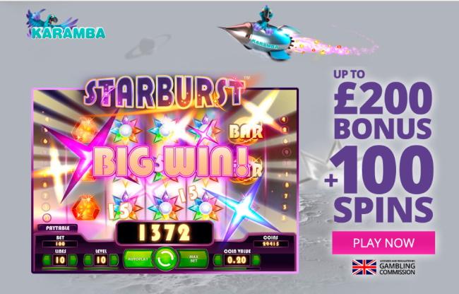 welcome bonus - Karamba Casino