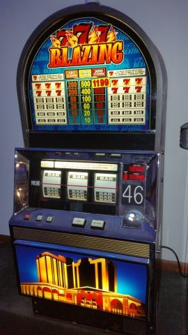 Bally Blazing 7 Tournament Machine  Slot Machines For