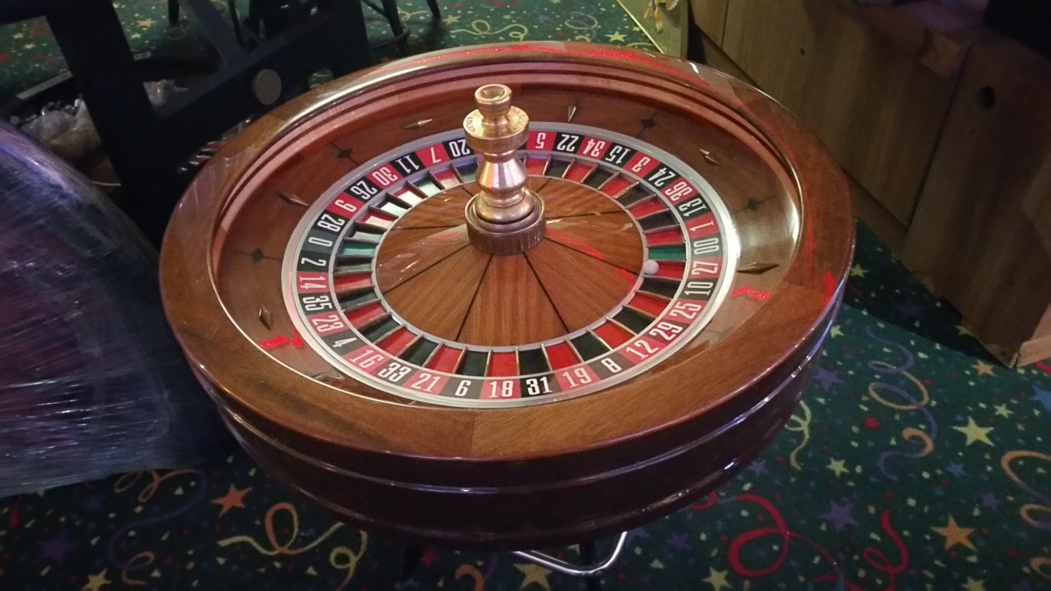 poker chairs with casters game table roulette wheel 32