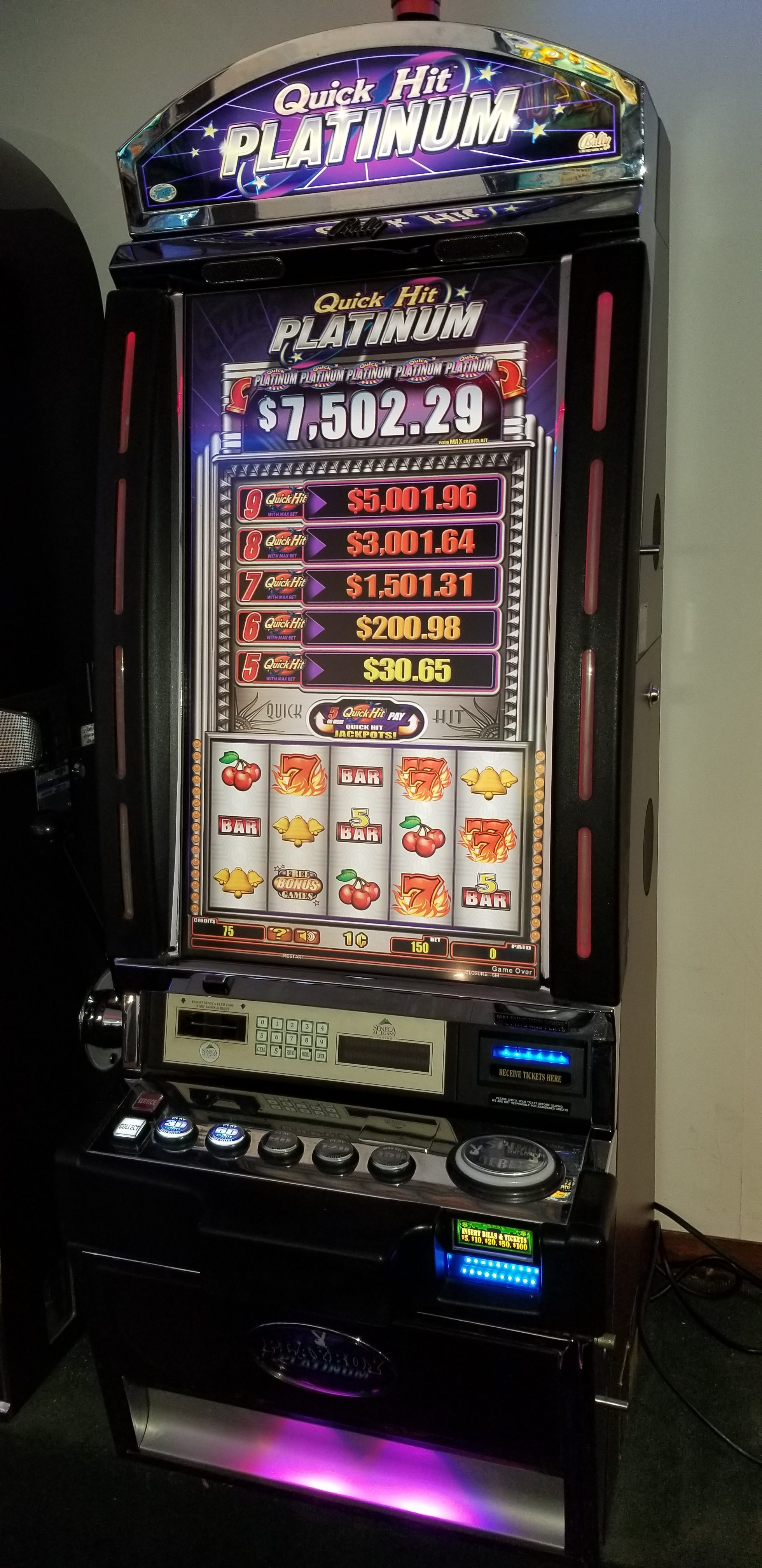 Bally V32 Platinum Quick Hits  Slot Machines For Sale