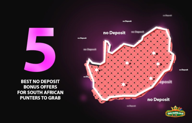5 Best No Deposit Bonus Offers for South Africans