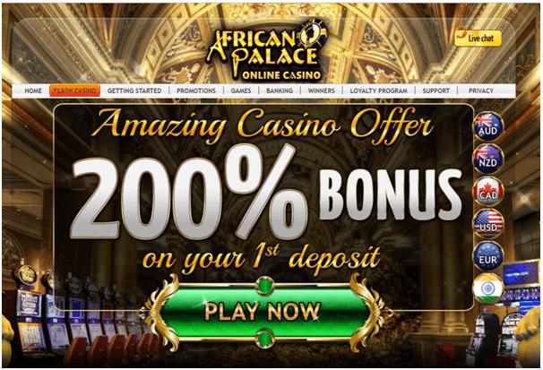 Africa palace casino gambling family