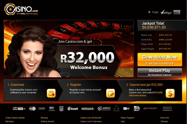 Casino.com- South African online casino