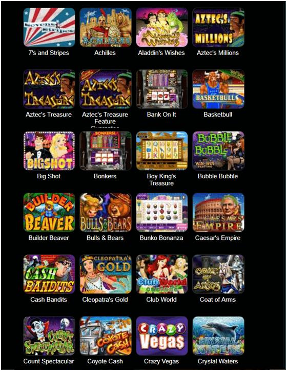 Club SA Casino Games